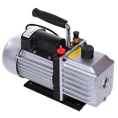 5CFM 1/3HP Vacuum Pump Rotary Vane Single Stage AC Refrigerant Air Conditioning