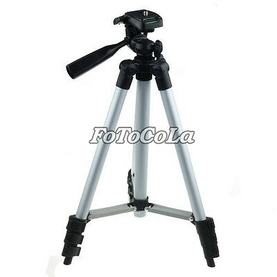 "42""Portable Light Weight Aluminum Tripod for Canon Nikon Sony Camera & Camcorder"