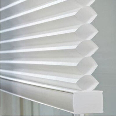 NEW with DEFECTS Light-Filtering Cordless Cellular Shade Window Honeycomb Shade