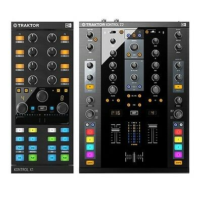 Native Instruments Traktor Kontrol X1 Mk2 & Z2 Package