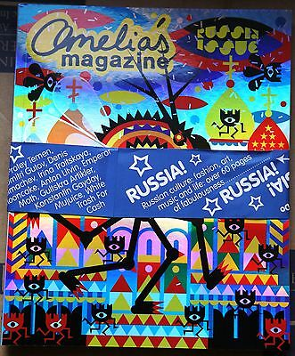 AMELIA'S MAGAZINE #8 A/W 2007 with FREE NOTEBOOK Russia Issue LAURA MARLING @New