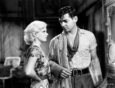 8x10 Print Clark Gable Jean Harlow Red Dust 1932 #29348