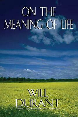 On the Meaning of Life by Will Durant Paperback Book (English)