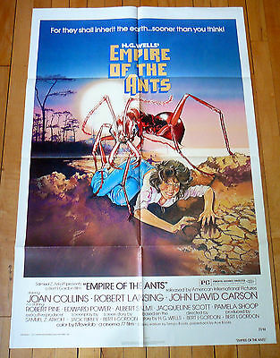 Film/Movie Poster: EMPIRE OF THE ANTS 1977 Original 1-sheet JOAN COLLINS