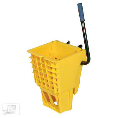 Thunder Group PLWB361W 36 QT Polypropylene Replacement Wringer MOP Bucket Yellow