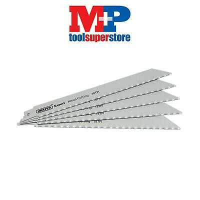 Draper 02312 Expert 200mm 24tpi HSS Reciprocating Saw Blades for Metal Cutting -