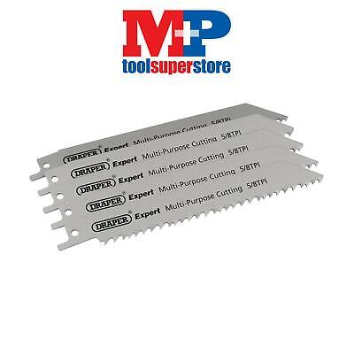 Draper 02313 Expert 150mm 5/8tpi HSS Reciprocating Saw Blades for Multi Purpose