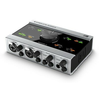 New Native Instruments Komplete Audio 6 Audio Interface 6-Channel DJ Soundcard