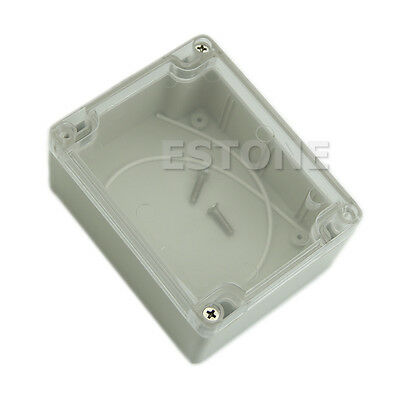 Waterproof 115*90*55MM Clear Cover Plastic Electronic Project Box Enclosure Case