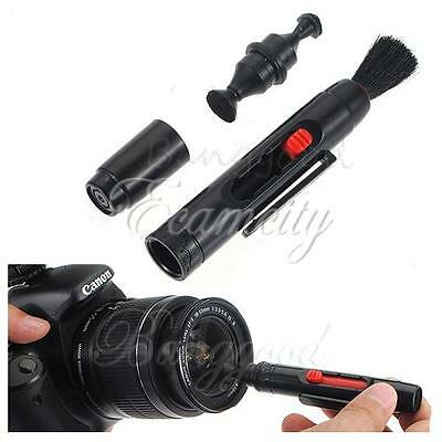 3 in 1 Kit Lens Clean Pen Dust Cleaner For DSLR VCR DC Camera Canon Nikon Sony