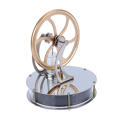 New Low Temperature Stirling Engine Heat Education Creative Toy Gift DE Stock