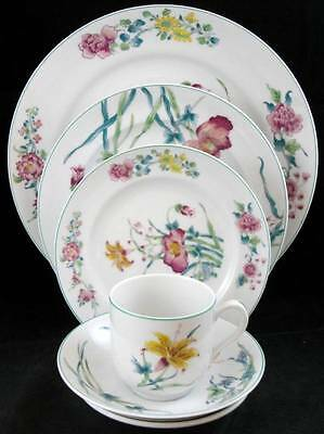 Mottahedeh LADY CHARLOTTE'S LILY 5 Piece Place Setting BRIDAL REGISTRY item A+