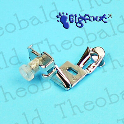 """Sewing Machine 1/4"""" Hemmer Foot Fits Brother Janome,elna,singer,toyota,silver +"""
