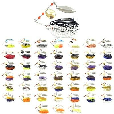 1/2 oz Spinnerbait Fishing Lures Hugh Colors Selection For Bass Fishing SP101