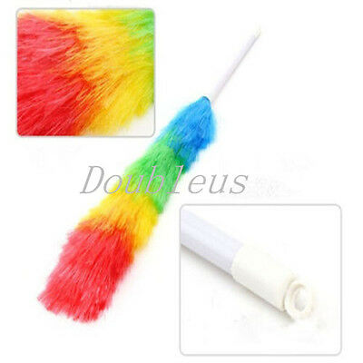 New Long Magic Anti Static Cleaner Feather Duster Hygienic Cleaning Dust Dusters