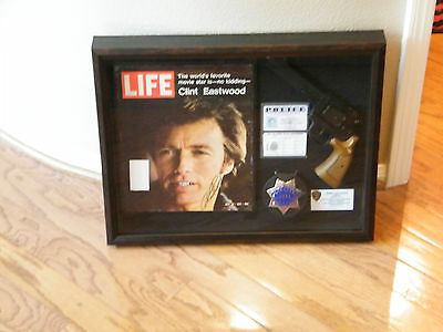 Clint Eastwood Dirty Harry Autograph Collection