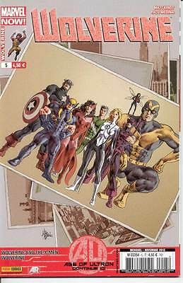 WOLVERINE 5 ( marvel panini 2013)  AGE OF ULTRON, Vends autres WOLVERINE en VF