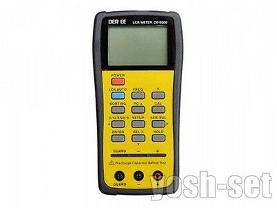 New DER EE DE-5000 High Accuracy Handheld LCR Meter from Japan