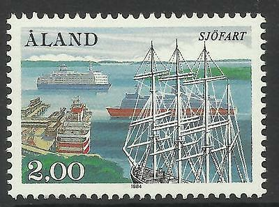 ALAND. 1984. Society of Ship Owners Commemorative. SG: 16. Mint Never Hinged.
