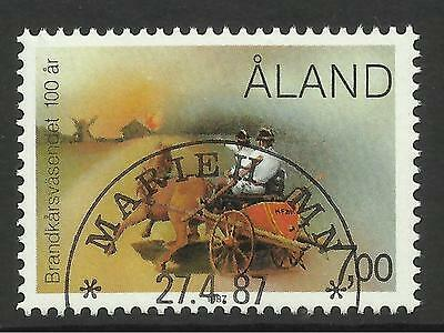 Sg: 56a Fine Used Cto 1992 Lighhouses Booklet Complete Aland