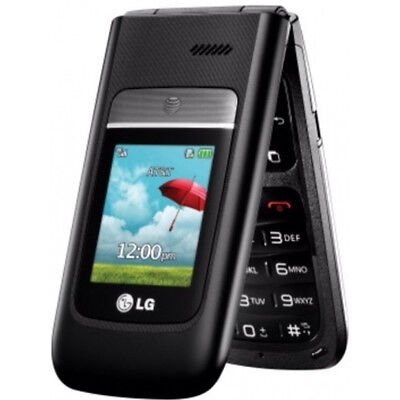 LG A380 (AT&T Unlocked) Black ** Excellent Condition** Camera Bluetooth Phone RB