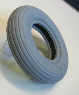 200x50 Grey Rib Tread Mobility Scooter Wheelchair Tyre