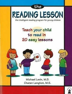 NEW The Reading Lesson: Teach Your Child to Read in 20 Easy Lessons by Michael L