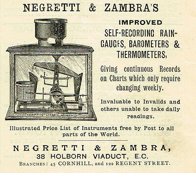 1900 AD Isenthal Potzler Mercury Break radiographer-85 Mortimer St., London