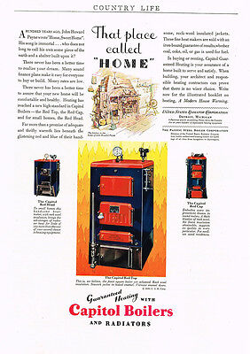1930 AD United States Radiator Corp. Detroit, Mich. - Capital Boilers heating