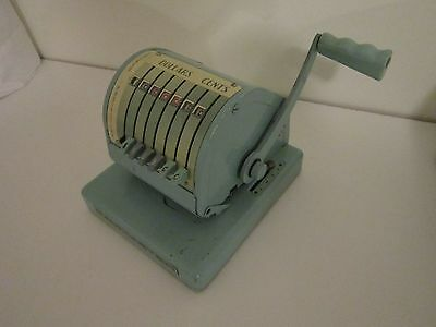 Vintage Paymaster Series X-550 Ribbon Check Writer