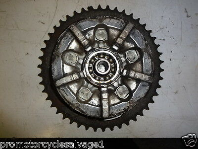 Suzuki Gsx 750 F 1989 - 1997:sprocket And Carrier - Rear:used Motorcycle Parts