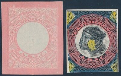 AMERICAN BANKNOTE Co. EXPERIMENTAL STAMP DIE ESSAYS EXTREMELY RARE WL6787
