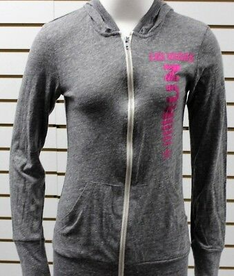 Brooks Women s Rock And Roll Marathon Series Las Vegas Eco Zip Hoodie Grey a5585028ecd4