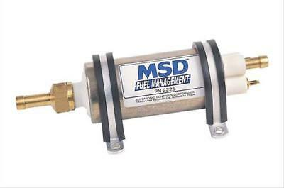 MSD 2225 Fuel Pump Electric High-Pressure External Inline Universal Ea