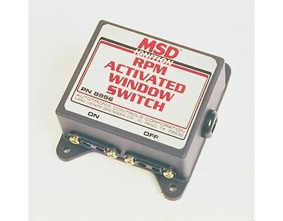 MSD 8956 RPM Activated Window Switch Each