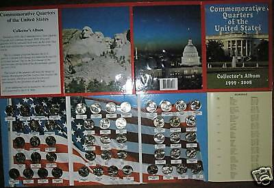 COMPLETE SET 50 BU State Quarters Collection DE to HI