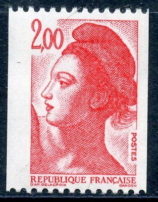 Stamp / Timbre France Neuf N° 2277 ** Gandon Liberte Roulette