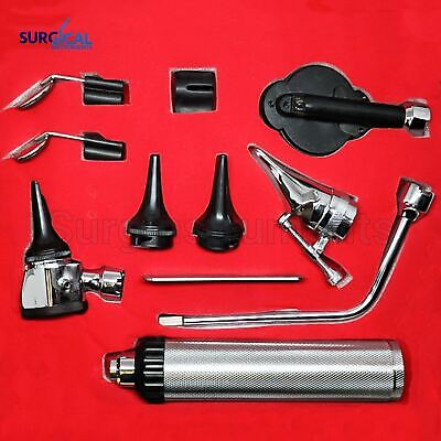 Otoscope & Ophthalmoscope ENT SET Medical Diagnostic Surgical Instruments