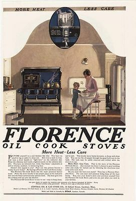 1920 AD Florence cook stoves-kitchen view
