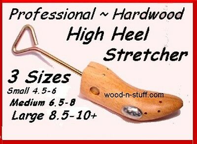 Medium #2 fits 6.5 - 8 ~ High Heel SHOE STRETCHER comes with FREE Liquid STRETCH