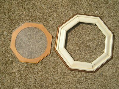 Antique Vintage Arts and Craft Art Nouveau Deco Picture Frame Beautiful Octagon