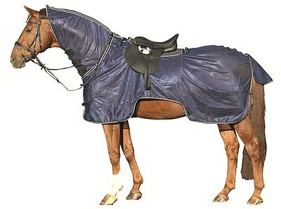 HKM Lightweight Fly Ride On Sheet/ Rug Combo Protect From Flies Insect 5'3 - 7'3