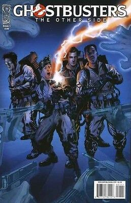 GHOSTBUSTERS THE OTHER SIDE #1-4 NEAR MINT COMPLETE SET 2008 IDW
