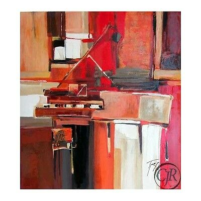 Yuri Tremler **Piano In Red**Serigraph On Paper