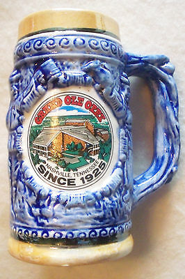 """SOUVENIR GRAND OLE OPRY SMALL STEIN  MADE IN JAPAN """"SINCE 1925"""""""