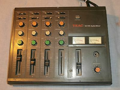 Teac M-09 Audio Mixer 4 Channel Mic Microphone Line FREE SHIPPING!!!!
