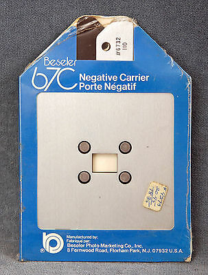 Beseler 67C #6732 110 Negative Carrier - Nos, Nip