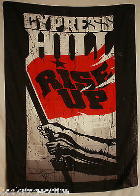 CYPRESS HILL Rise Up Tom Morello Textile Fabric Cloth Poster Flag Tapestry-New!!