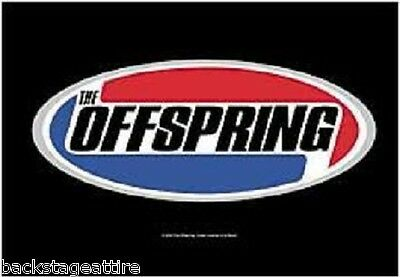 RARE! THE OFFSPRING Classic Oval Logo Cloth Poster Flag Fabric Textile Tapestry