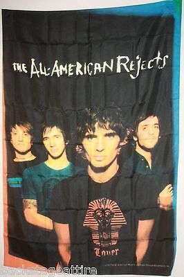 "ALL AMERICAN REJECTS Illuminated 29""X43""  Fabric Cloth Poster Flag Tapestry-New!"